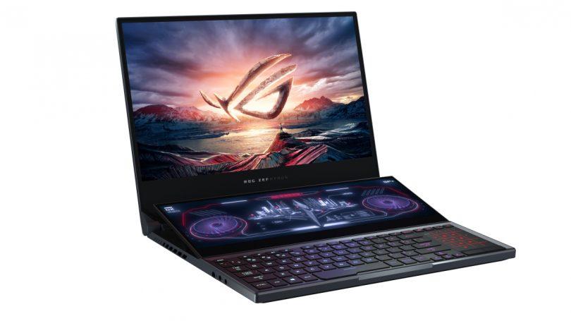 ASUS Zephyrus Duo 15: gaming-bærbar med dobbeltskærm