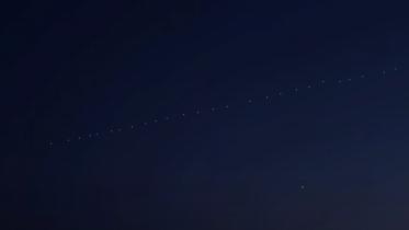 Starlink-satellitterne indtager stjernehimlen