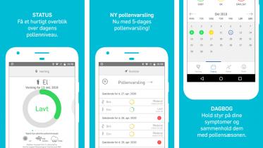 Pollen-app: Kunstig intelligens skal hjælpe pollenallergikere