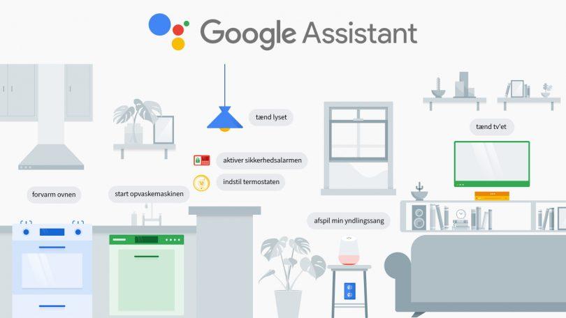 Sådan bygger du et smart-hjem med Google Home og Google Assistent