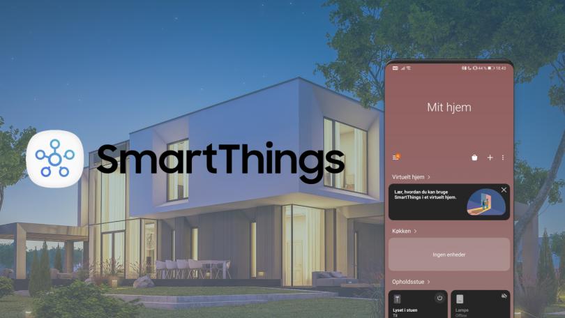 Sådan bygger du et smart-hjem med Samsung SmartThings