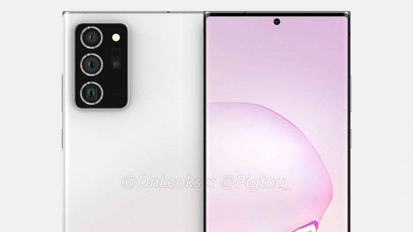 Samsung Galaxy Note 20 Plus får endnu større skærm