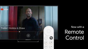 Sådan ser Chromecast med Android TV og fjernbetjening ud