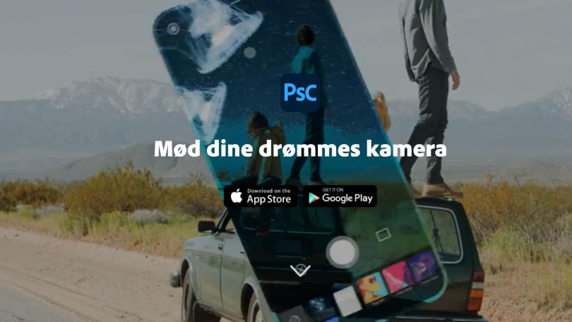 Photoshop Camera-app lanceret til Android og iPhone