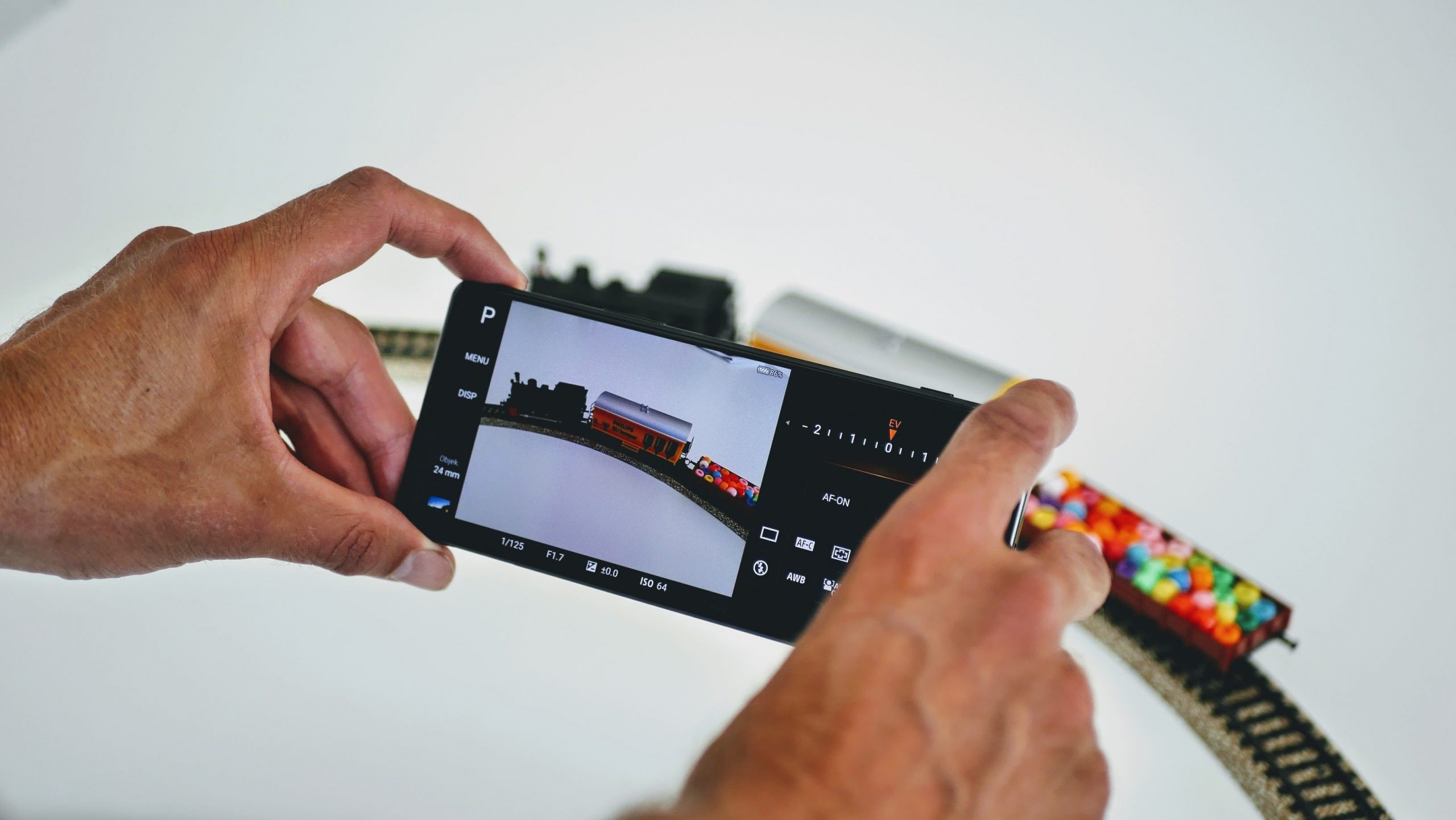 Photo Pro appen på Sony Xperia 1 II