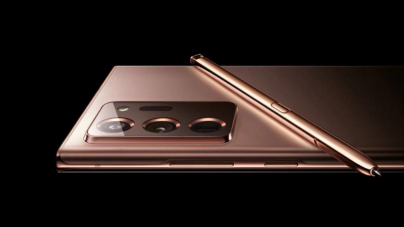 Samsung lækker billede af Galaxy Note 20 Ultra ved en fejl