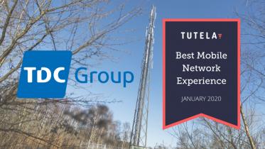 Undersøgelse: TDC Groups mobilnetværk er det bedste i Danmark