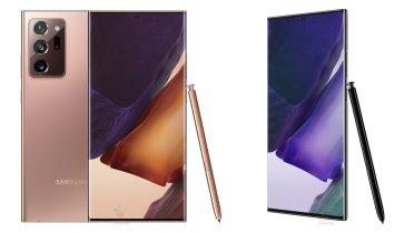 Samsung Galaxy Note 20 Ultra: Billeder og specifikationer lækket