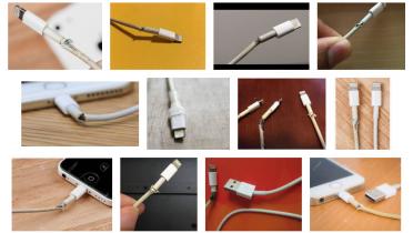 Slut med ødelagte iPhone-kabler: Flettet ladekabel følger med iPhone 12