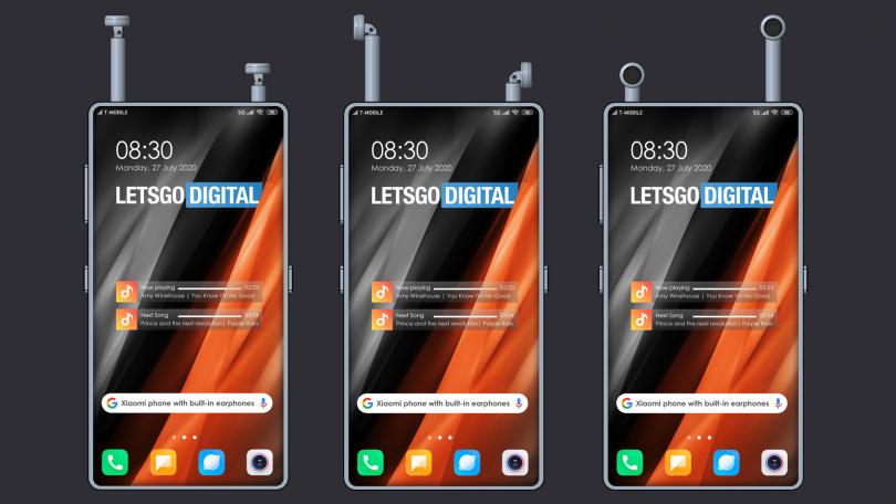Xiaomi-patent: Gem dine trådløse earbuds direkte i smartphonen