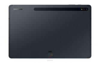 "Samsung Galaxy Tab S7+ på 12,4"" i Mystic Black"