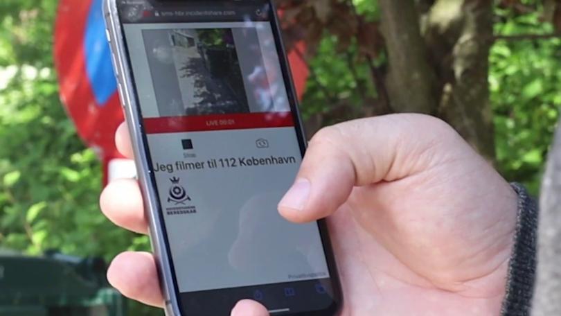 Nu kan du sende live-video fra mobilen til alarmcentralen i 8 kommuner