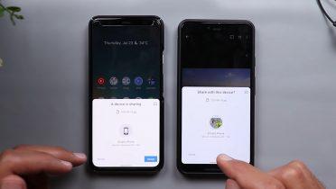 """Sådan fungerer """"Deling tæt på"""" – Android-konkurrenten til AirDrop"""