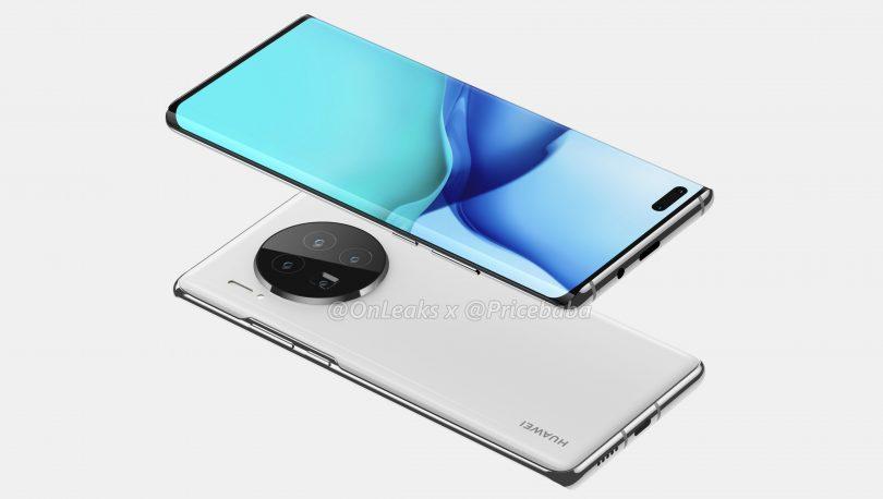 Huawei Mate 40 Pro lækket: Får gigantisk kamerahus bagpå