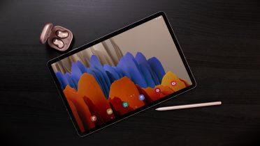 Samsung Galaxy Tab S7 og S7+: Nu med 120 Hz-skærme og bedre S Pen