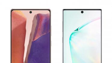 Her er forskellen på Samsung Galaxy Note 20 og sidste års Note 10