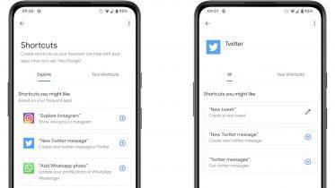 Google Assistent får en skrabet udgave af Genveje i iOS