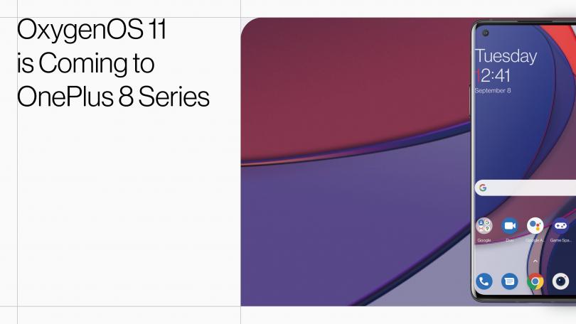 OnePlus klar med Android 11 til OnePlus 8 – prøv det nu