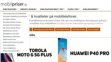 Mobilpriser.dk relanceret med nyt design