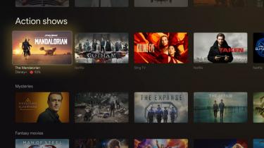 Chromecast med Google TV