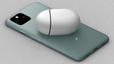 Sådan oplader Google Pixel 5 trådløst trods en bagside af metal