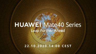Huawei Mate 40-serien lanceres den 22. oktober