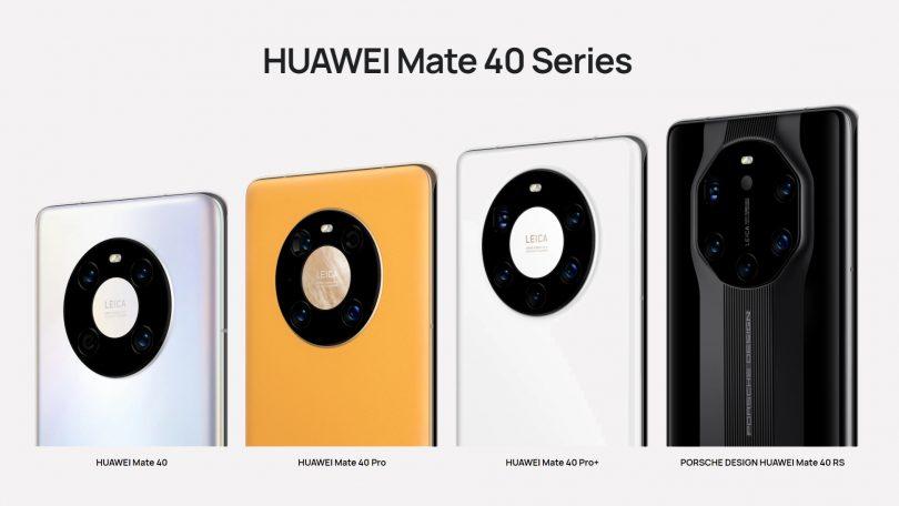 Huawei lancerer Mate 40-serien med vildt kamera, 90 Hz og lynopladning