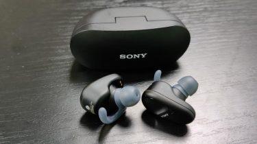 Test af Sony WF-SP800N – Velspillende med skuffende ANC