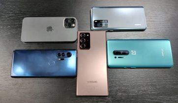 Disse ti mobiltelefoner har de bedste kameraer