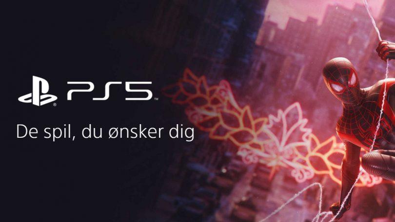 Disse spil er klar til PlayStation 5 ved salgsstart