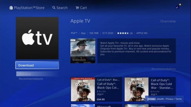 Nu er Apple TV-app klar til PlayStation 4 og 5