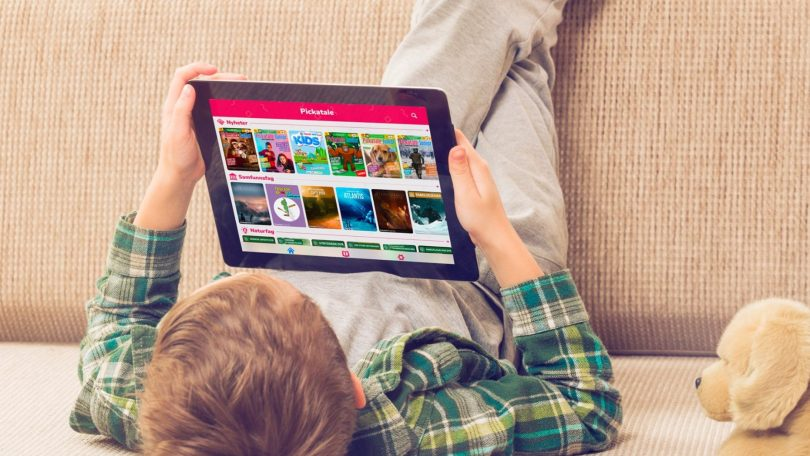 Appen Pickatale gør det sjovt for børn at læse og lære dansk