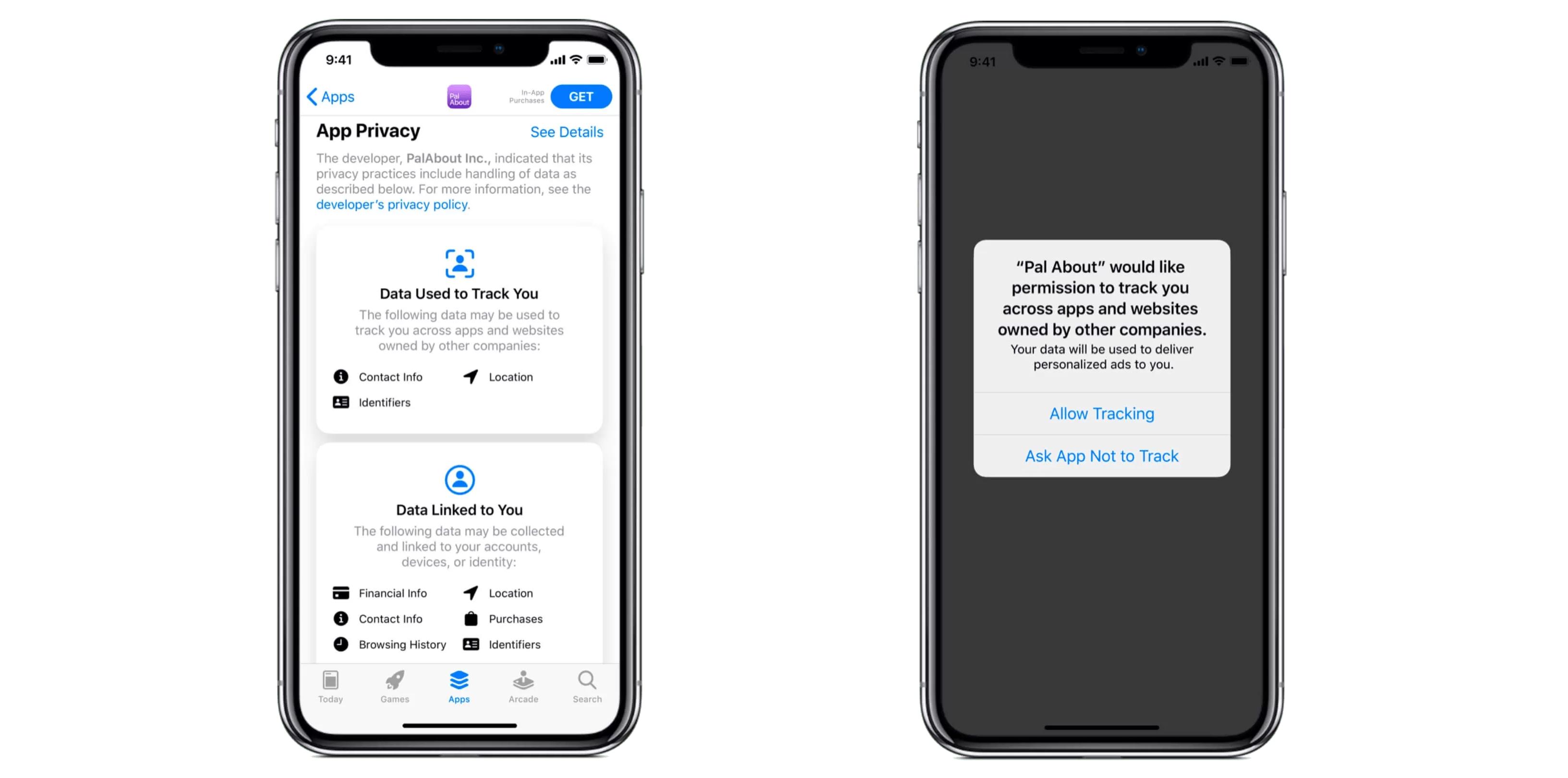 Kontrol af sporing i iOS 14.5
