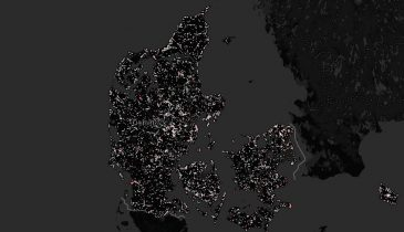 Hvor er der dårlig mobildækning i Danmark? Se kort