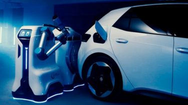 Volkswagen viser deres EV-opladningsrobot frem