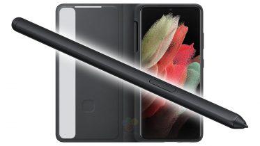 Sådan ser S Pen til Samsung Galaxy S21 Ultra ud