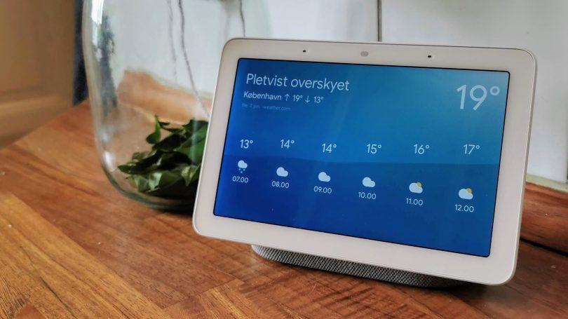 Google på vej med ny smartere Nest Hub kontrolenhed