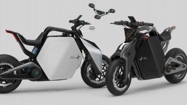2040 Polestar motorcykel har LiDAR system og drone