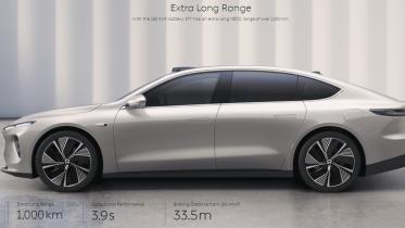 Elbilen Nio ET7 lanceret – pas på Tesla