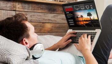 Spar penge på streaming af film og tv, lydbøger og musik