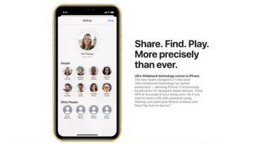 Apple i front for udbredelsen af Ultra Wideband-teknologi