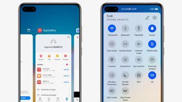 Disse Huawei-telefoner får først HarmonyOS-brugerfladen