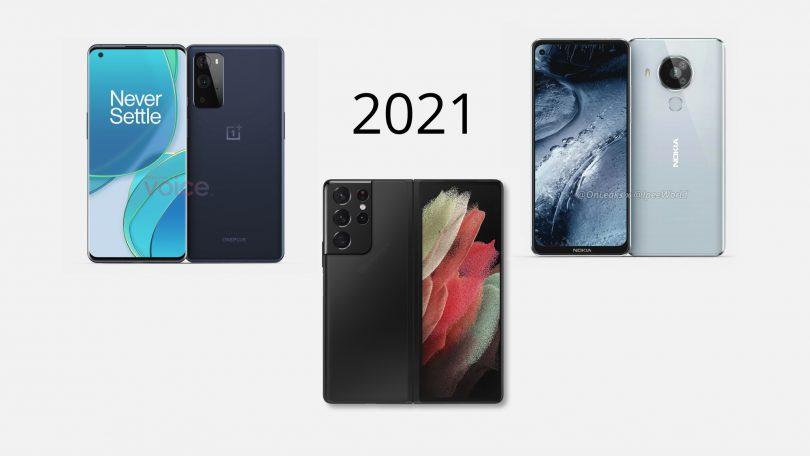 Kommende smartphones: Disse telefoner kommer i 2021