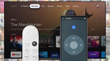 Google arbejder på app-fjernbetjening til Google TV