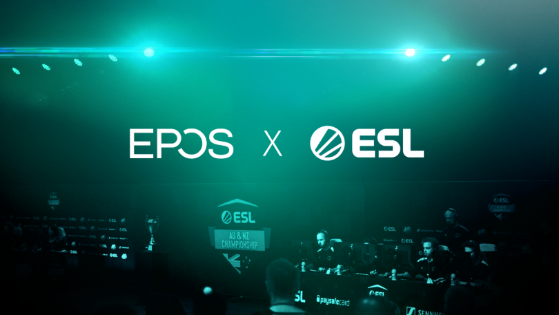 EPOS i partnerskab med e-sportskonkurrencen ESL