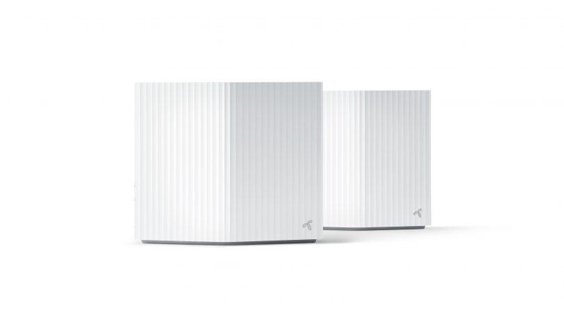 Telenors testvindende og designvindende bredbåndsrouter.