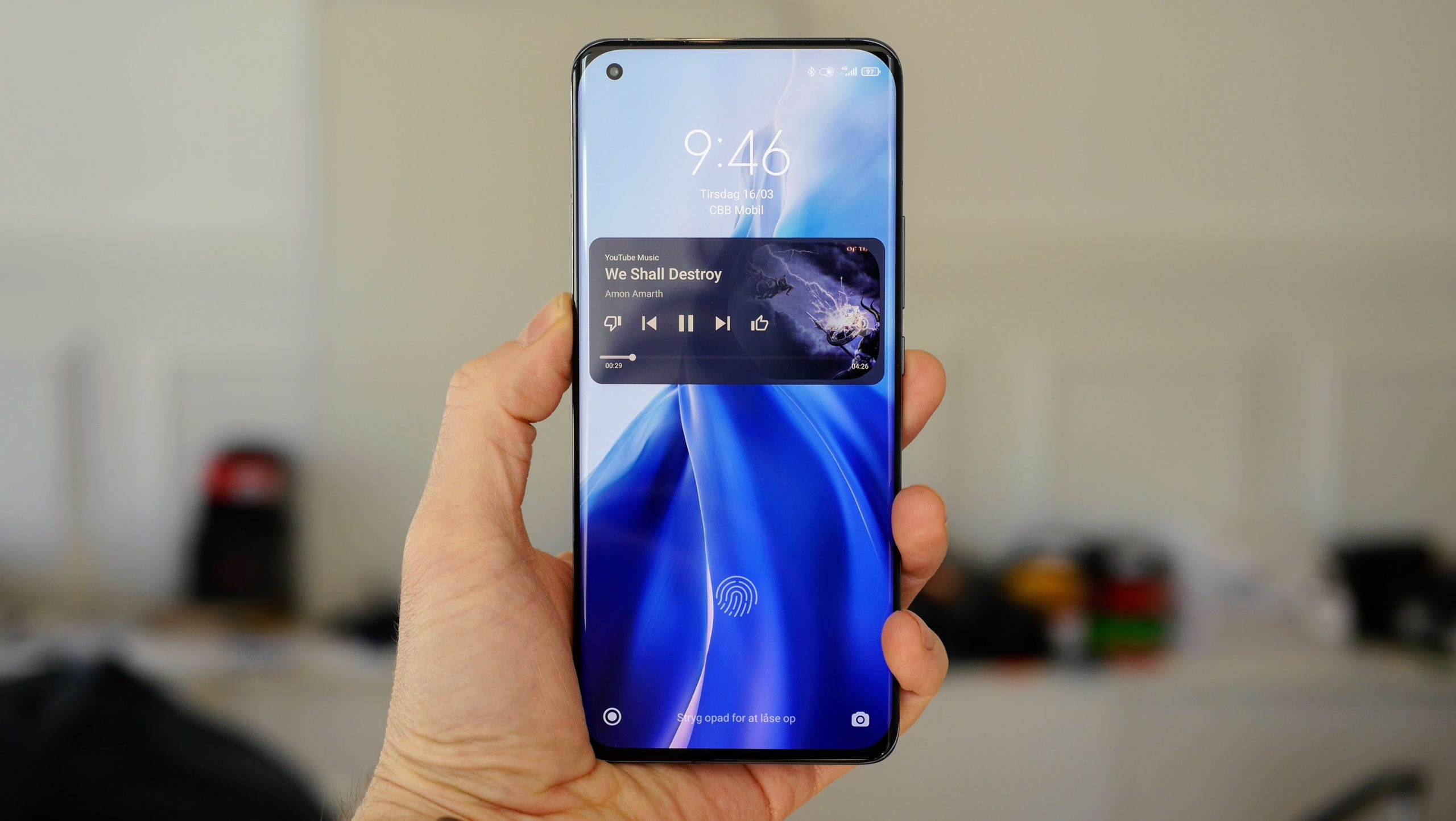 Xiaomi Mi 11 test