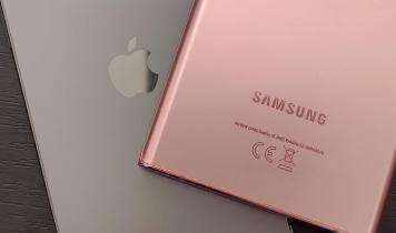 iPhone taber stort til Samsung-telefoner i 5G-hastigheder