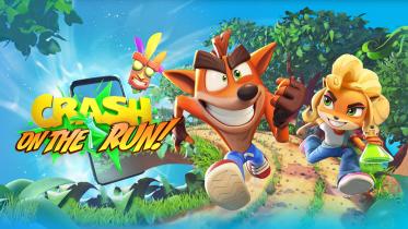 Nu kan du spille 'Crash Bandicoot: On the Run!' på din smartphone