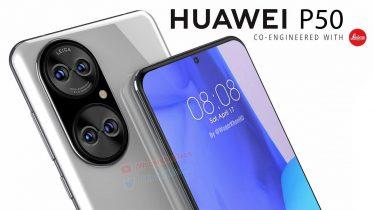 Huawei P50-serien får verdens største kamerasensor